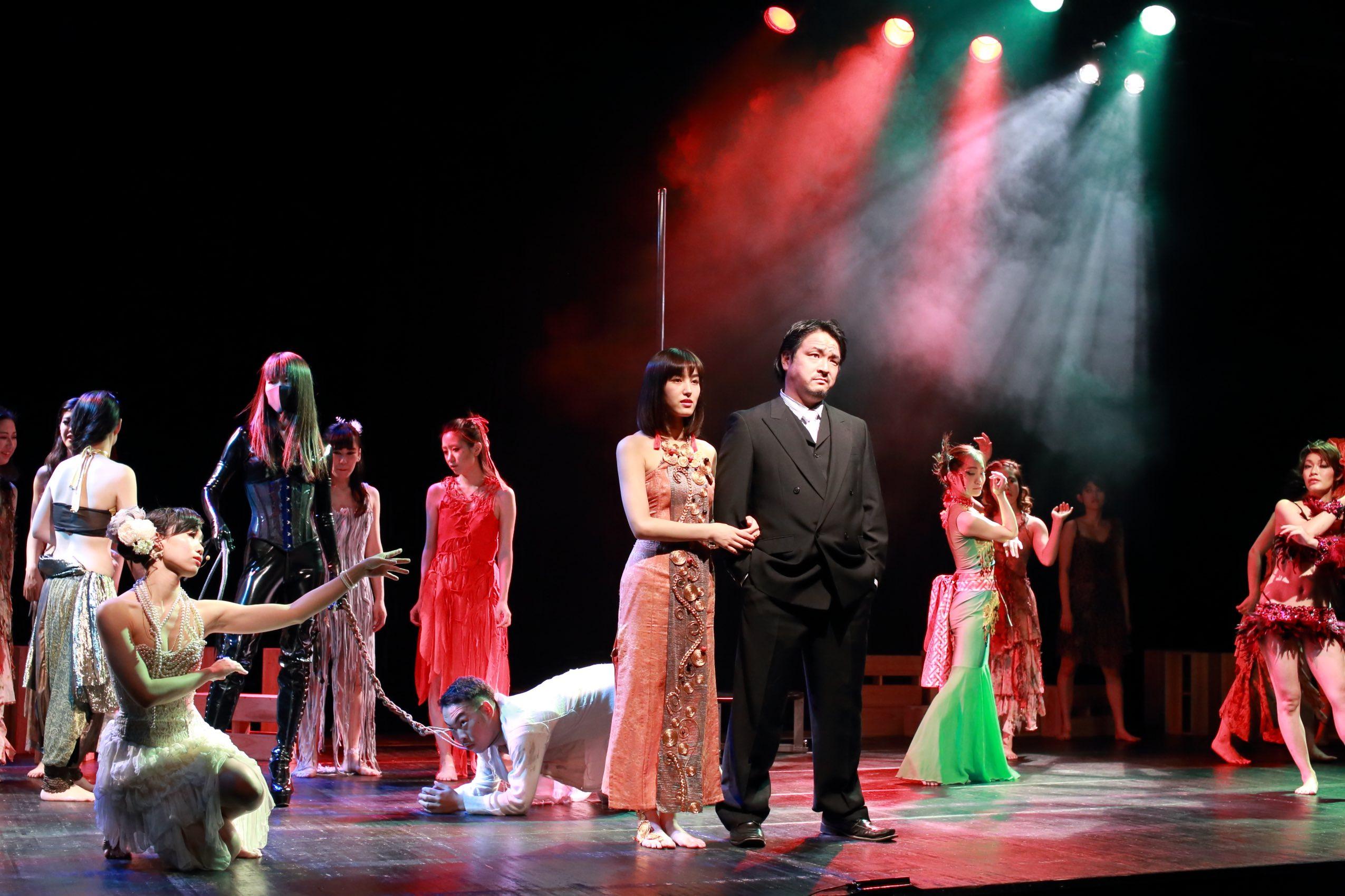 オーディション [関西]「幻想・耽美・官能」的な舞台 出演者募集 演劇とダンス、そして音楽ライブを融合させたアーティスティックな舞台作品 主催:アートプロジェクト集団「鞦韆舘」(しゅうせんかん)、カテゴリ:舞台