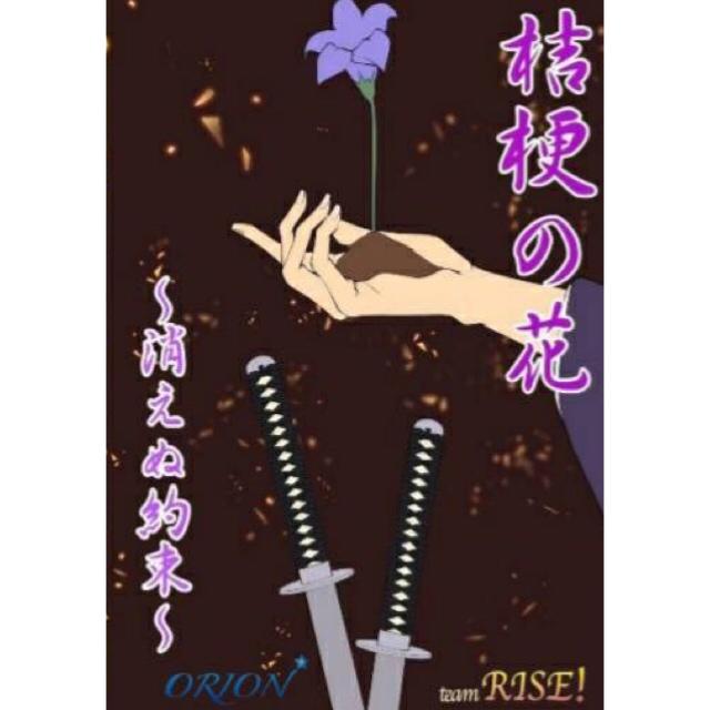 オーディション オリジナル作品「桔梗の花~消えぬ約束~」男女キャスト募集 4月に公演を開催するにあたり、男性・女性出演者を募集致します 主催:team RISE!、カテゴリ:舞台