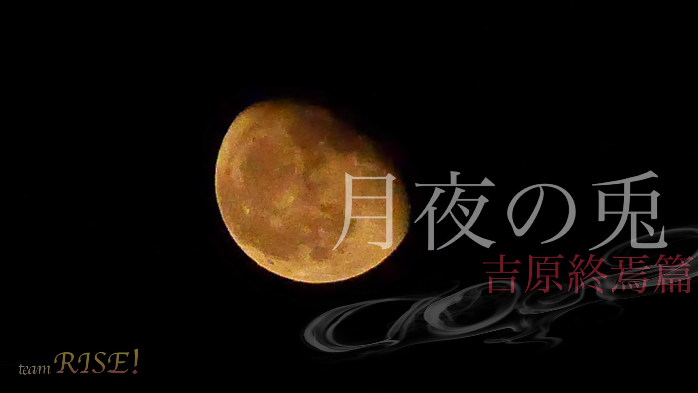オーディション 2月公演「月夜の兎~吉原終焉篇~」男女キャストオーディション 主催:team RISE!、カテゴリ:舞台